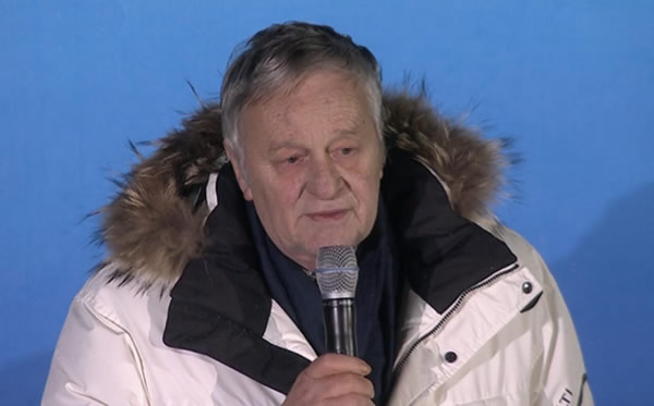 FIS Präsident - Gian Franco Kasper