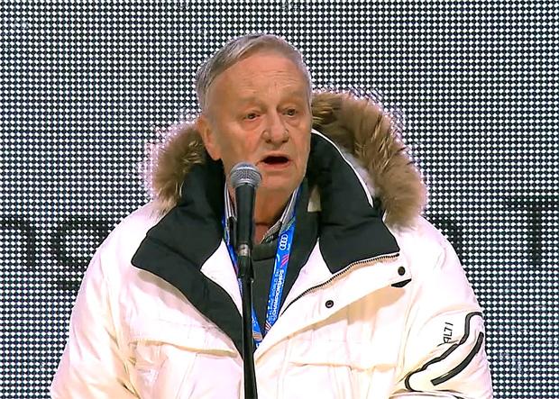 FIS-Präsident Gian Franco Kasper geht in die nächste Amtszeit