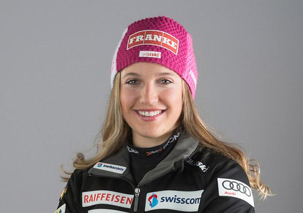 Vanessa Kasper freut sich über EC-Riesentorlauf-Sieg in Kvitfjell