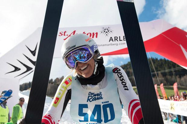 Die Vorarlbergerin Angelika Kaufmann krönte sich zum 6. Mal zur Königin der Valluga. (Foto: Patrick Säly)