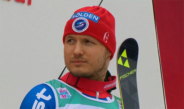 Khoroshilov auch in Adelboden auf dem Podest