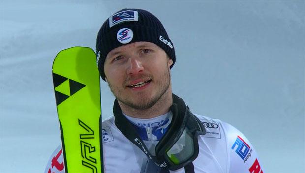 Aleksandr Khoroshilov glänzte erneut auf der großen Slalom-Bühne