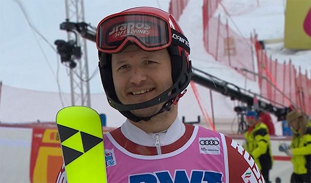 Alexander Khoroshilov schlägt seine Trainingszelte in den Alpen auf