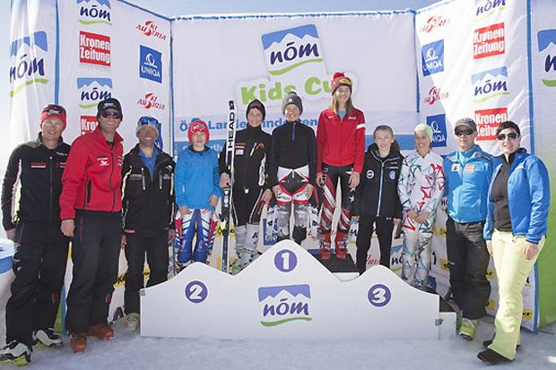 In Andelsbuch stellten die Skitalente aus Vorarlberg ihr großes Können unter Beweis. (Foto: Peter Lintner)