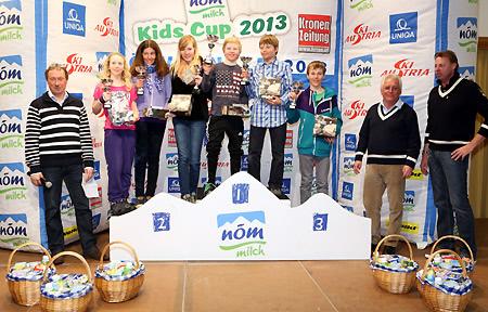 """Das """"Team Romed Baumann"""" freute sich über den Sieg beim Kids Cup Finale.(Foto: K.S.C.)"""