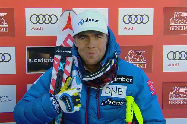 Abfahrtstrainingsbestzeit für Aleksander Aamodt Kilde in Garmisch
