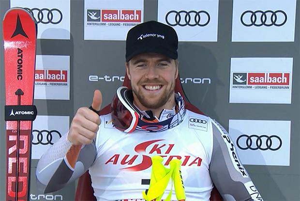 Endlich: Große Ski Weltcup Kugel ist bei Aleksander Aamodt Kilde eingetroffen