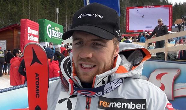 Aleksander Aamodt Kilde trainiert in der Schweiz