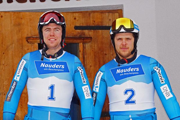 Aleksander Aamodt Kilde und Bjørnar Neteland (Foto: www.agerer.at)