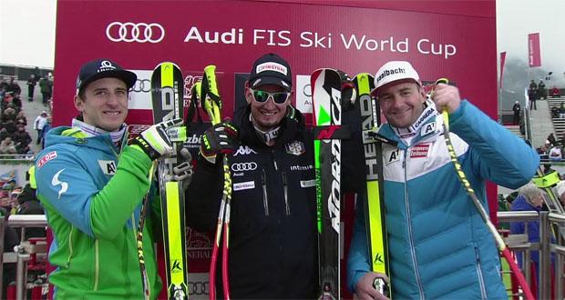 ÖSV-Duo rast in Kitz auf das Super-G-Podest