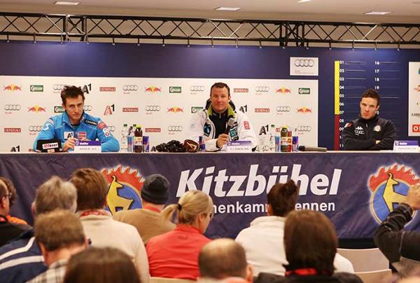 © hahnenkamm.com  /  Pressekonferenz Super G