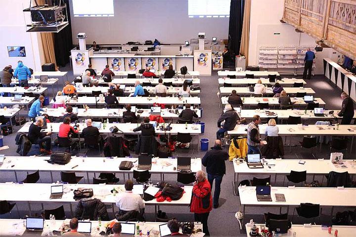 © hahnenkamm.com / Blick ins Pressezentrum
