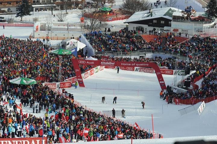 © hahnenkamm.com - Der Slalom in Kitzbühel