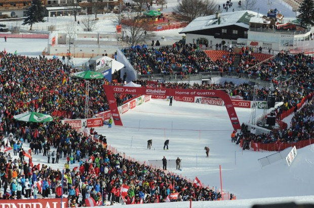 Slalom der Herren in Kitzbühel