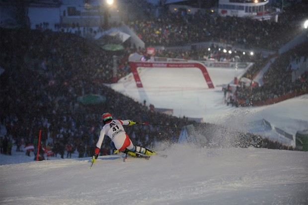 © hahnenkamm.com - Der Ganslerhang - Eine Kultstätte des klassischen Slaloms
