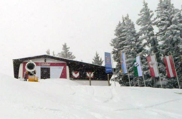 © hahnenkamm.com  / Seit drei Tagen ist der Winter in Kitzbühel wieder Dauergast.