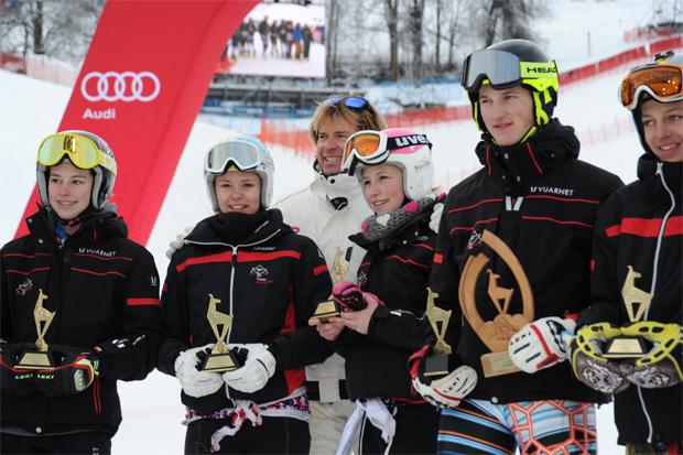 © hahnenkamm.com  / Das Siegerteam aus Tirol