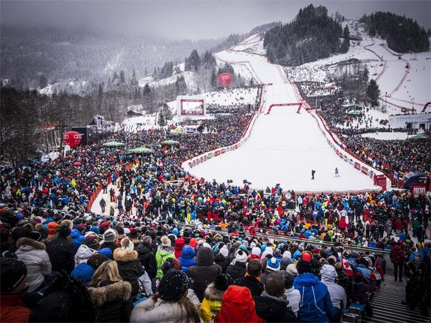 © hahnenkamm.com  / ÖSV NEWS: Gewinnen Sie Karten für die Hahnenkamm-Rennen in Kitzbühel.