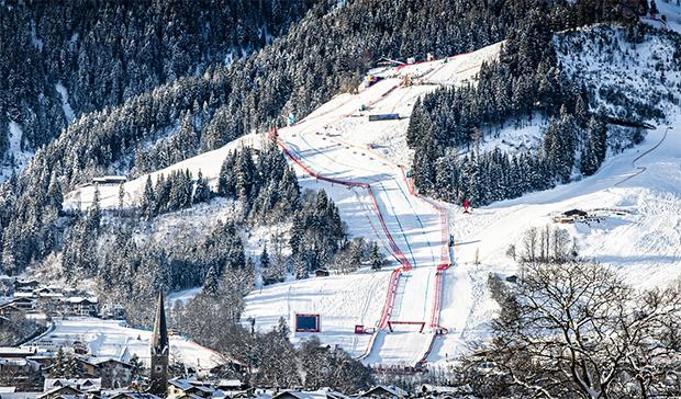 LIVE: 1. Abfahrt der Herren in Kitzbühel 2021 am Freitag - Vorbericht, Startliste und Liveticker - Startzeit: 11.30 Uhr (© Claudia Egger / Skiweltcup.TV)
