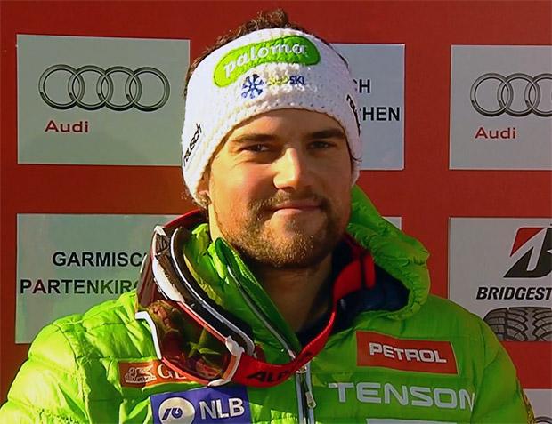 Boštjan Kline im Skiweltcup.TV-Interview