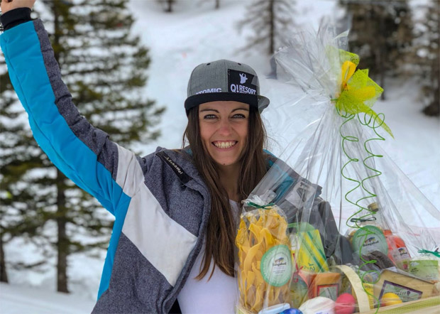 Hannah Köck gewinnt drei ihrer vier letzten Rennen in der Saison 2017/2018 (Foto privat)