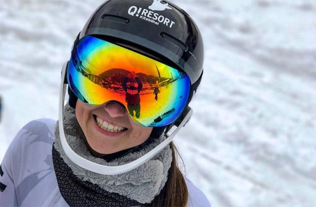 """Hannah Köck: """"Ich bin bestens für den Skiweltcup-Winter gewappnet."""" (Foto: Hannah Köck / privat)"""