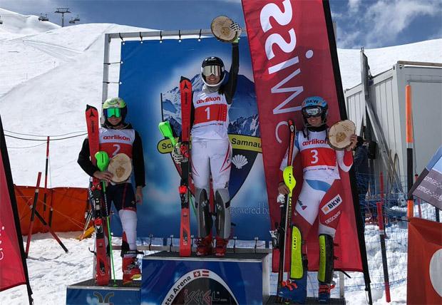Hannah Köck setzte sich in vor den Schweizerinnen Carole Bissig und Elena Stoffel durch.