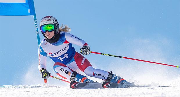Noémie Kolly erlitt Kreuzbandverletzung (© Foto: Swiss-Ski.ch)