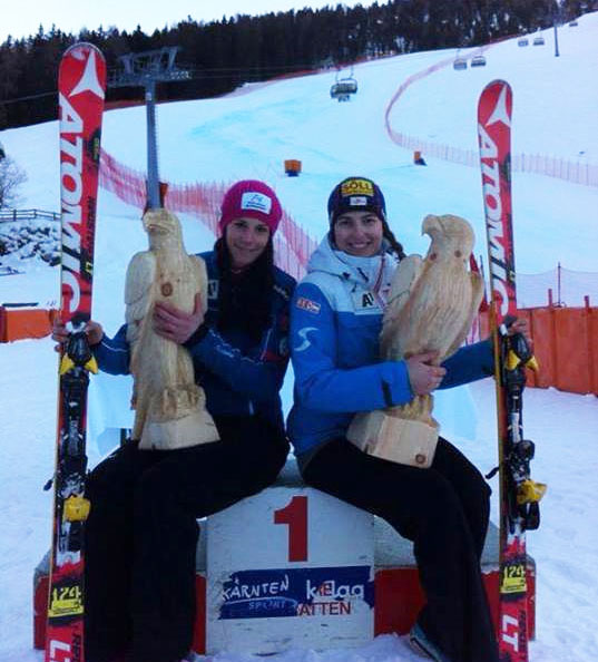 ÖSV Ladies Ski Team Austria / Mirjam Puchner & Christina Ager