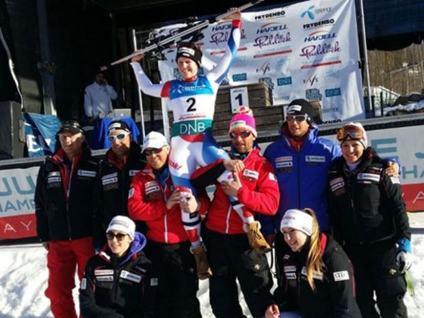 © swiss-ski.ch / Rahel Kopp ist Weltmeisterin in der Superkombination!