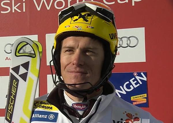 Ivica Kostelic gewinnt Super Kombination in Wengen