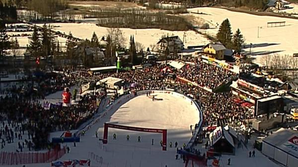 Kranjska Gora freut sich auf den Ski Weltcup