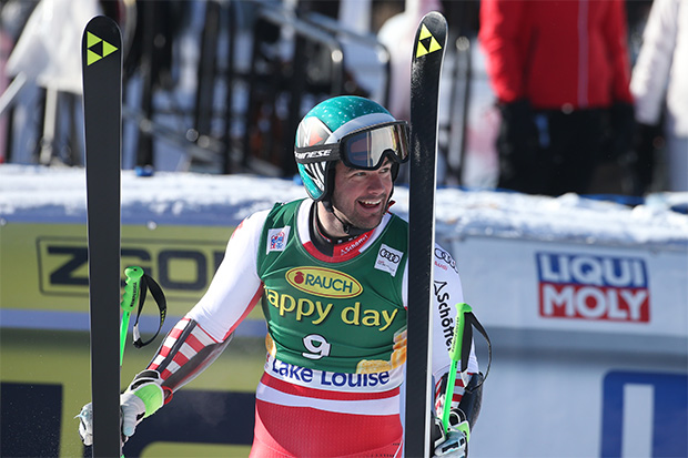 Fischer Ski News: Kriechmayr Super-G Dritter in Lake Louise (©Fischer Sports GmbH / GEPA Pictures)