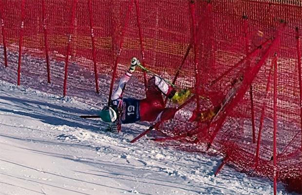 Vincent Kriechmayr blieb bei Trainingssturz in Kitzbühel unverletzt