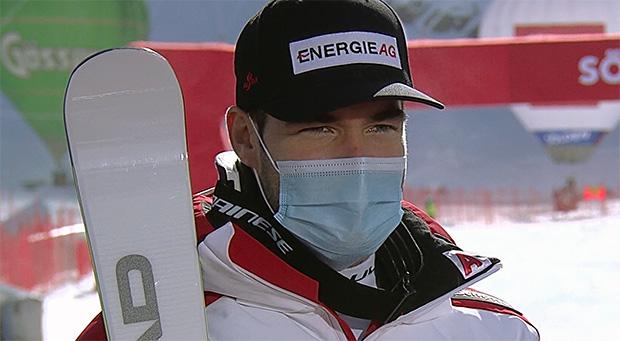 Vincent Kriechmayr schrammte in der letzten Saison knapp am Gewinn der kleinen Super-G-Kristallkugel vorbei.