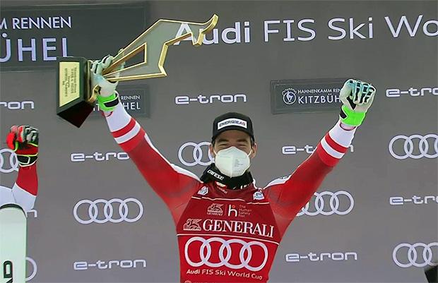 Vincent Kriechmayr gewinnt Super-G in Kitz
