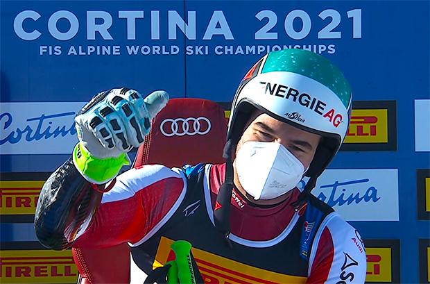 Der Super-G Weltmeister 2021 heißt Vincent Kriechmayr