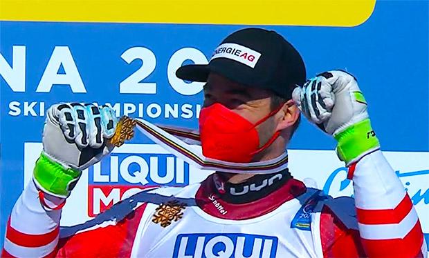 Ski WM 2021: Vincent Kriechmayr krönt sich zum Doppelweltmeister