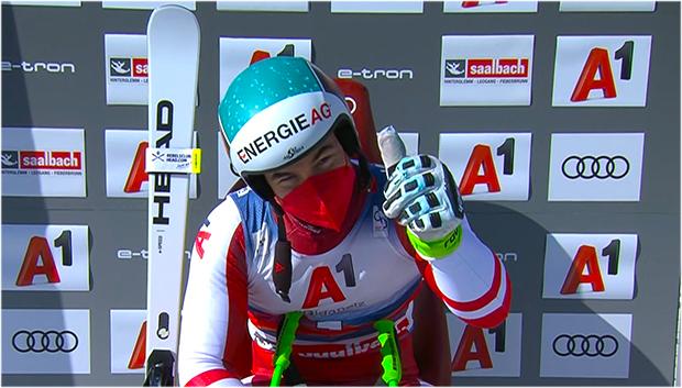Weltmeister Vincent Kriechmayr gewinnt Abfahrt von Saalbach-Hinterglemm