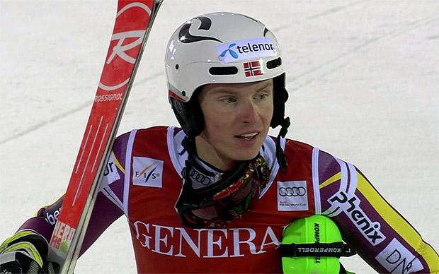 Triumphator Henrik Kristoffersen (NOR)