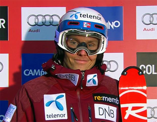 Henrik Kristoffersen im 1. Slalom-Durchgang von Madonna di Campiglio eine Klasse für sich