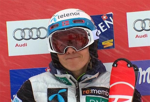 Der erste Slalom-Durchgang in Wengen geht an Henrik Kristoffersen