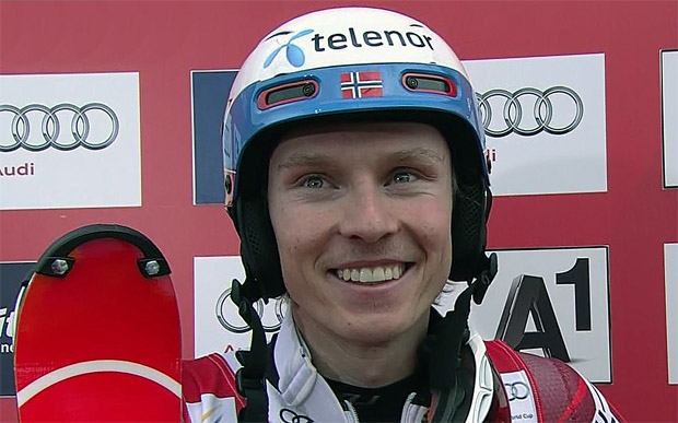Henrik Kristoffersen sichert sich nach furiosem zweiten Lauf Slalom-Sieg in Kitzbühel