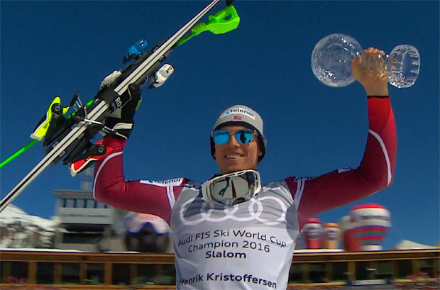 Slalom-Disziplinenwertung geht an Henrik Kristoffersen