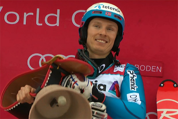 Henrik Kristoffersen düpiert bei Slalomsieg in Adelboden die Konkurrenz