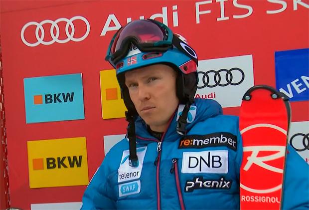 Halbzeitführung für Henrik Kristoffersen beim Slalom auf dem Lauberhorn