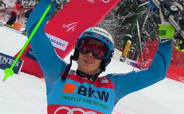 Henrik Kristoffersen gewinnt Slalom in Wengen