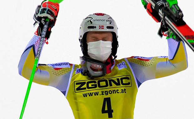 Dritter Triumph für Henrik Kristoffersen beim Slalom in Madonna di Campiglio