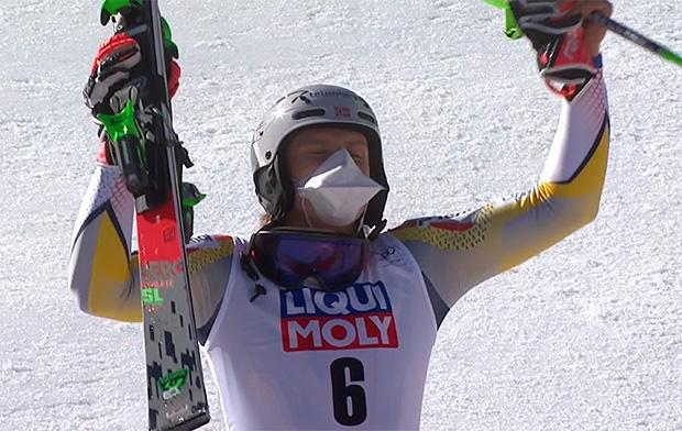 Henrik Kristoffersen gewinnt Slalom von Chamonix am Sonntag