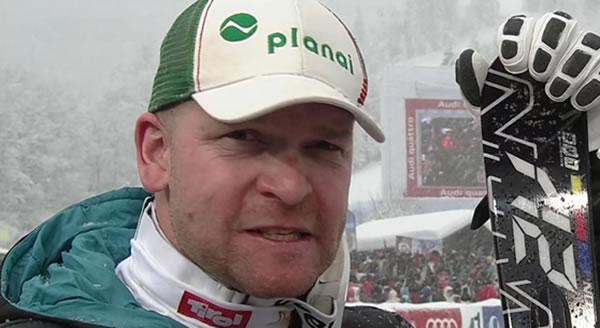 Klaus Kröll trauerte nach dem Rennen einen möglich Sieg nach, später freuete sich der Steirer aber über seinen Platz auf dem Podium.